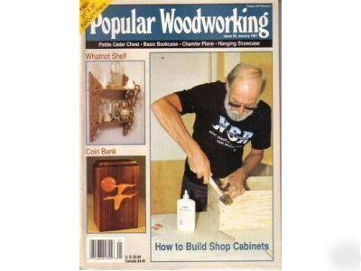 Popular woodworking plans magazine january 1991
