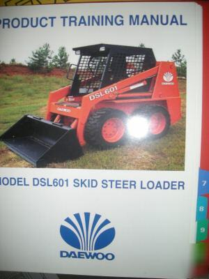 Daewoo    Dsl 601 Skid Steer Loader Parts    Manual      Wiring    Diagram    And    Schematics