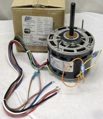 1 3 Hp 1075 230 V 3 Speed Furnace Blower Fan Motor 3586