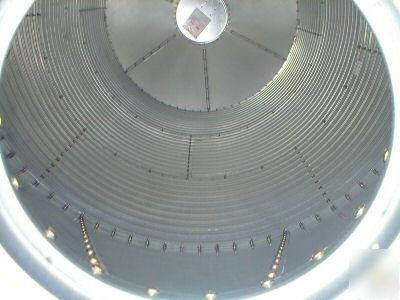 Valco 4 10 ton bulk feed storage bin - two ring