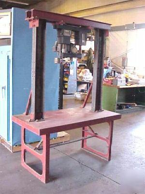 Wilson Universal Rockwell Hardness Tester With Bench
