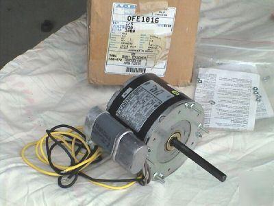 New Ao Smith Condenser Fan Motor Ofe1016 1080rpm Fedder