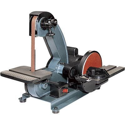 Combo bench belt disc sander machine sanding polisher Bench belt sander