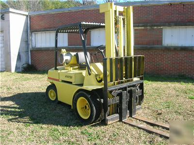 Used Tires Des Moines >> Hyster 6K lp forklift w/dual front tires hydrostatic