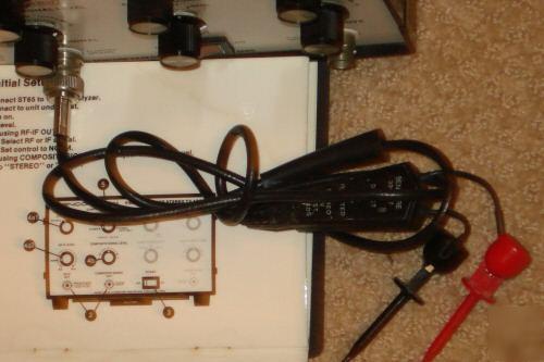 Sencore St65 Video Analyzer Stereo Tv Adder Amp Instruction