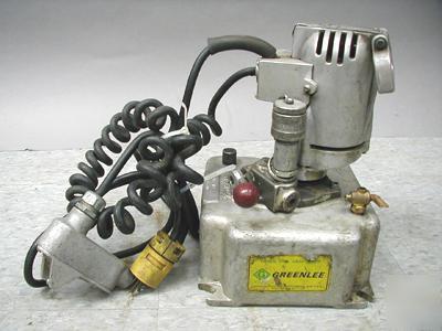 Greenlee 915 Electric Hydraulic Pump