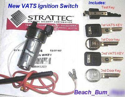 Vats Ignition Lost Key Corvette Keys Adimage on 96 Camaro Wiring Diagram