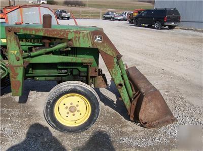 John Deere 75 Loader For Compact Utility Tractors 950