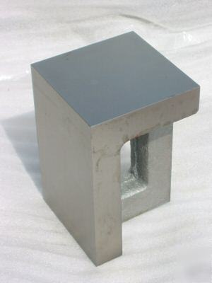 4-1/2X 5 x 8 right angle iron plate ground block .0005""