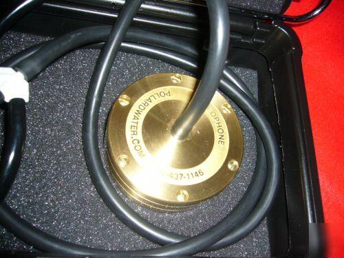Water Leak Detector >> Geophone water leak detector pipe locator slab leak