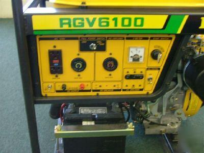 Robin Subaru Rgv6100 Generator 11hp 6100 Watts Mint