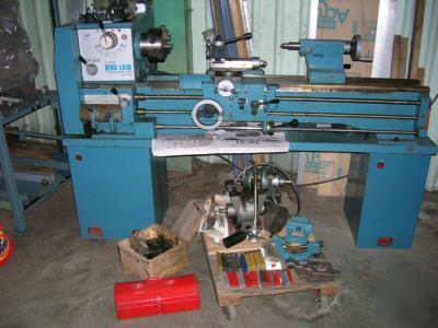 Enco Milling Machine 14x40 Quot Lathe Huge Lot Extras