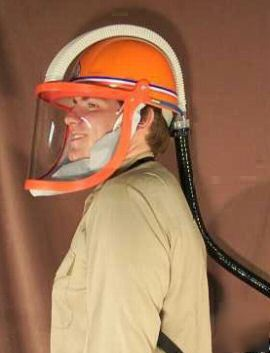New Belt Mounted Papr Powered Air Purifying Respirator