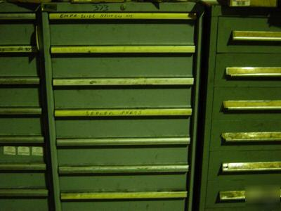Used Cabinets For Sale >> Used lista 8 drawer parts cabinet