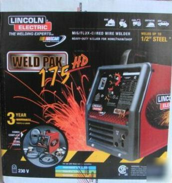 New Lincoln Electric Weld Pak 175 Hd 175hd Mig Welder
