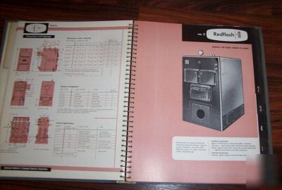 1952 american-standard radiator heating catalogue R52