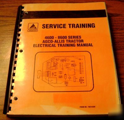 Agco allis 1614h manual on