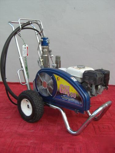 Rock County Honda >> Graco gh 230 gas hydraulic airless paint sprayer GH230