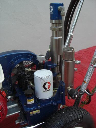 Graco Gh 230 Gas Hydraulic Airless Paint Sprayer Gh230