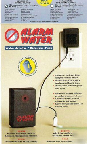 water overflow alert leak alarm basement leak sensors