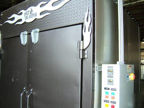 Hot Rod Chopper Powder Coating Batch Oven Ovens Coat