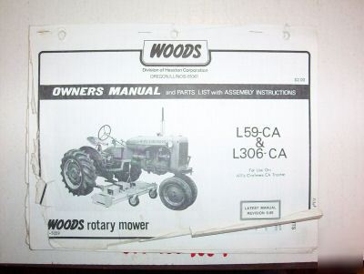 Woods Owners Manual
