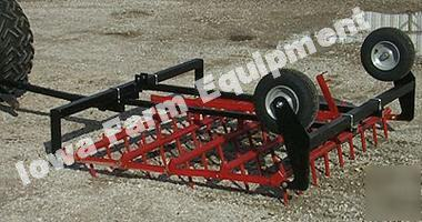 Atv Amp Compact Tractor 5 Flip Over Spike Tooth Harrow