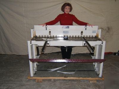 Sheet Metal Shear Steel Cutter Cutting 4 Foot 48 Inch