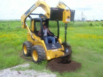 Skidsteer Skid Steer Auger Bit Post Hole Digger Drill