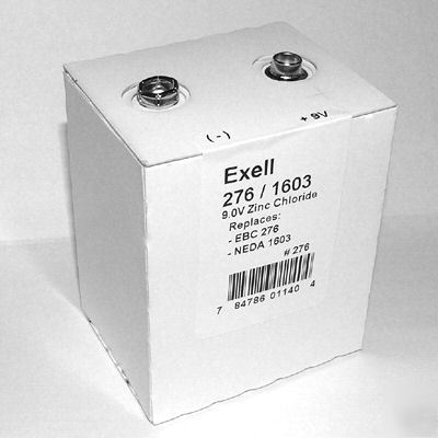 9V battery ebc 276 neda ansi 1603 ST9 PP9 for meters