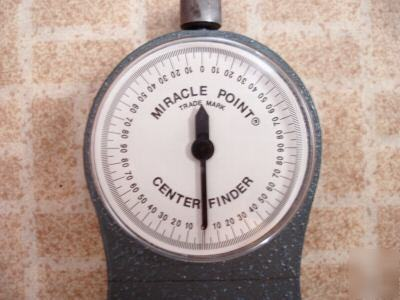 Miracle Point Magnetic Base Protractor Model 900 Erick
