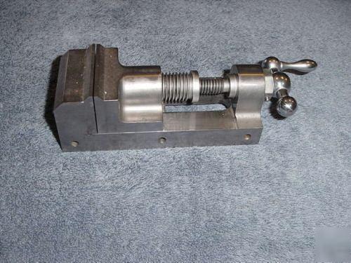 nice precision made machinist vise custom built tool