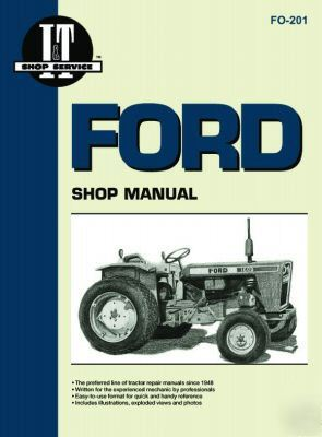 Ford/fordson i&t shop service repair manual fo-201