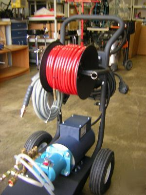 Hydro Jetter Drain Cleaning Snake Power Machine