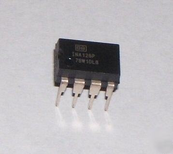 INA126P — burr brown— ic, amp inst, low power