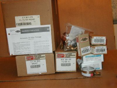 Carrier 5H open drive compressor oil filter package