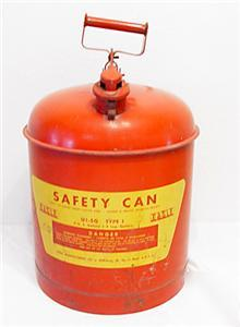 Eagle U1-50 type 1 safety can 5 gallon
