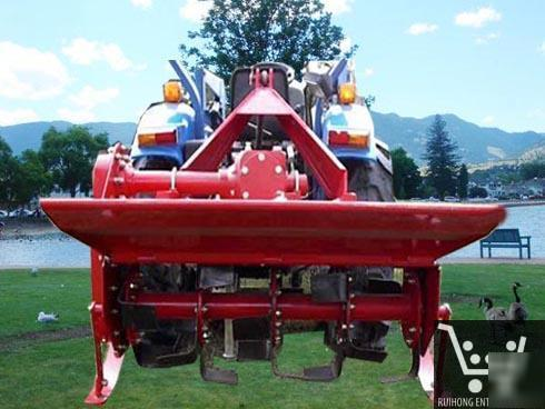 Rotary tiller 1GX120 cultivator - tractors 25-30HP 48