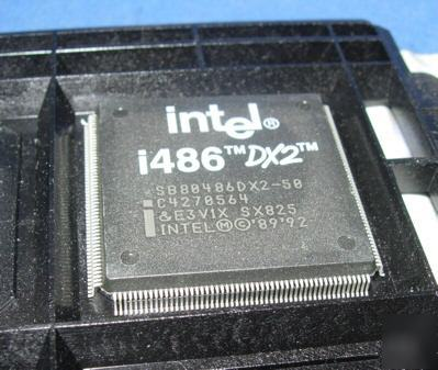 New intel I486DX2 SB80486DX-2-50 qfp cpu rare only 1
