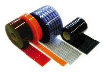 Pvc strip material, pre-cut, punched, door, replacement