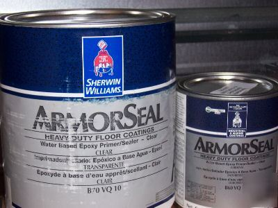 New Sherwin Williams Armorseal Wb Epoxy Primer Sealer