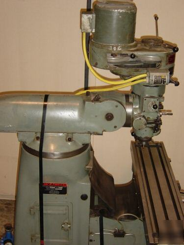 Bridgeport Mill For Sale >> Exacto bridgeport style vertical turret knee mill power