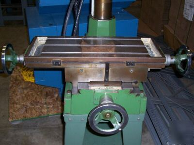Jet 16, 12 speed drilling & milling machine-very clean