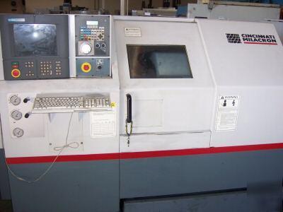 1998 Cincinnati Hawk 150 Cnc Turning Center W 2100