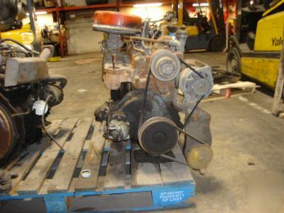 Used Continental Flathead Forklift Engine