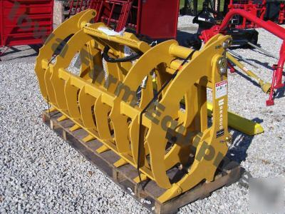 Bradco 84 Quot Root Rake Amp Grapple Universal Skid Steer Q A
