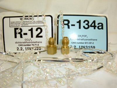 R134A to R12 & R12 to R134A